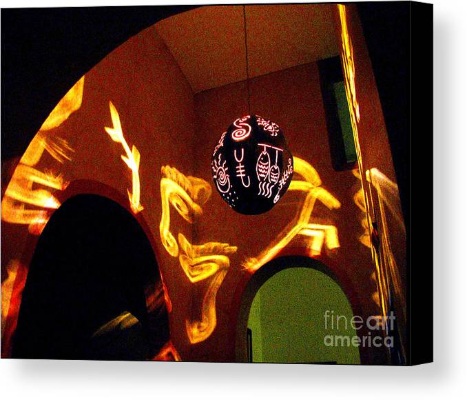 Darian Day Canvas Print featuring the photograph House Of Runes 1 By Darian Day by Mexicolors Art Photography