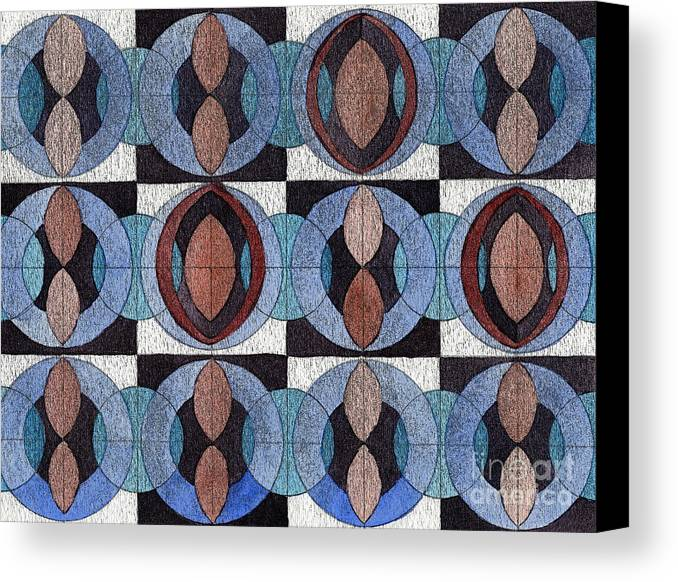 Canvas Prints Canvas Print featuring the digital art Spirit Of Harmony by Norma Appleton