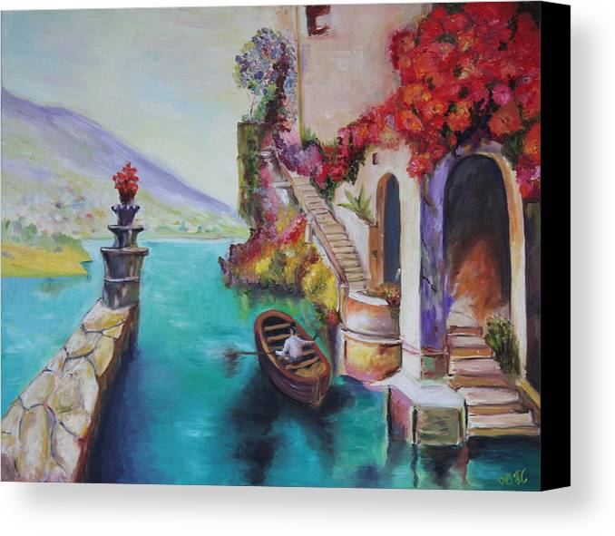 Colors Canvas Print featuring the painting Untiteled by Taly Bar