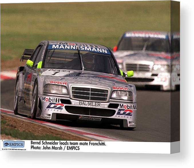 Motor Racing I T C Nurburgring Canvas Print