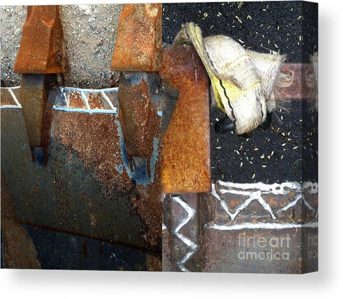 Marlene Burns Canvas Print featuring the photograph On The Corrode Again by Marlene Burns