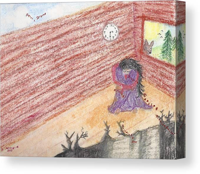 Depression Canvas Print featuring the photograph Sweet Lorraine Lost by Deborah Moen