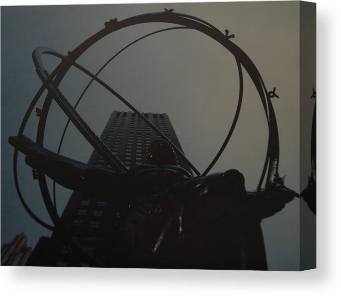 Atlas Canvas Print featuring the photograph Atlas by Rob Hans