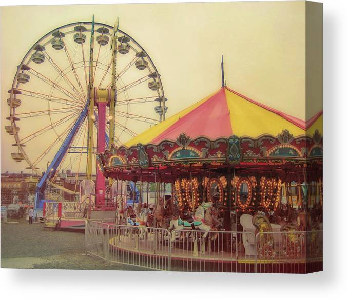 Carnival Canvas Print featuring the photograph County Fair by JAMART Photography
