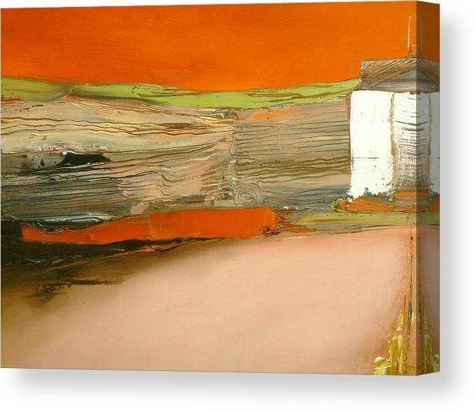 Abstract Canvas Print featuring the painting In Search Of The Lost Chord by Stefan Fiedorowicz