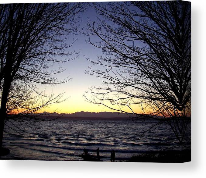 Trees Canvas Print featuring the photograph Welcome by Kevin D Davis