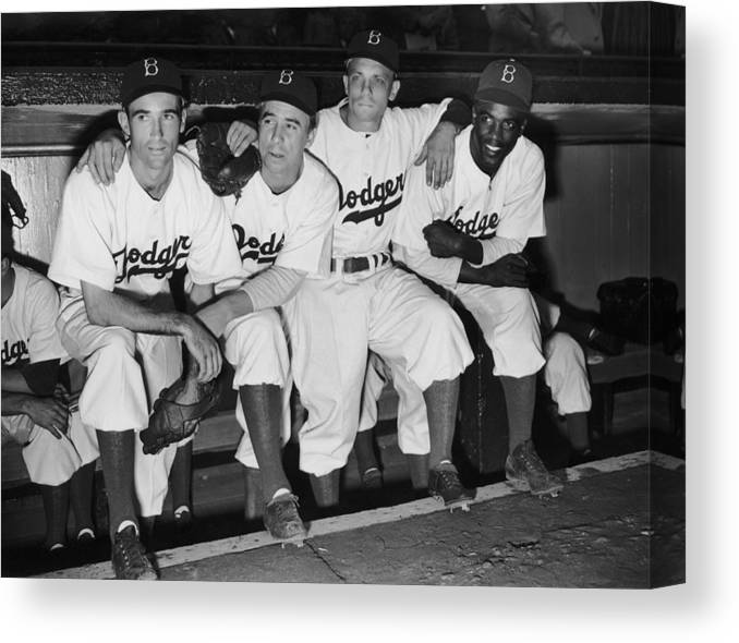 People Canvas Print featuring the photograph New Dodger by Fpg