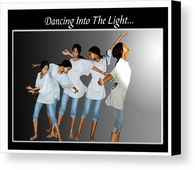 Photo Canvas Print featuring the photograph Dancing Into The Light by Richard Gordon