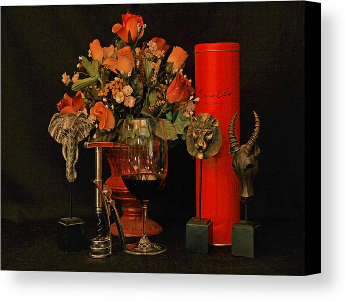 Wine Canvas Print featuring the photograph For A Special Occasion by John Stuart Webbstock