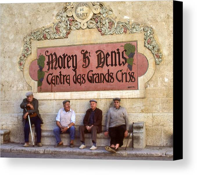 Canvas Print featuring the photograph French Gentelman by Mel Felix