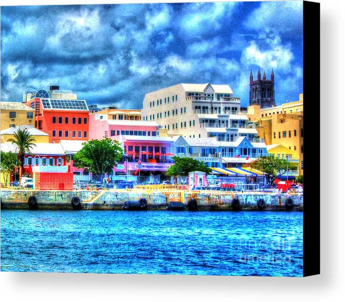 Bermuda Canvas Print featuring the photograph Beautiful Bermuda by Debbi Granruth