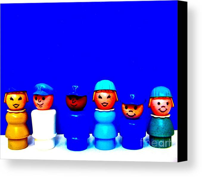 Flight Crew Canvas Print featuring the photograph Fly Crew by Ricky Sencion