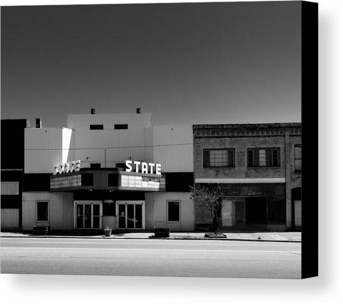 Canvas Print featuring the photograph State by Robert Tolchin