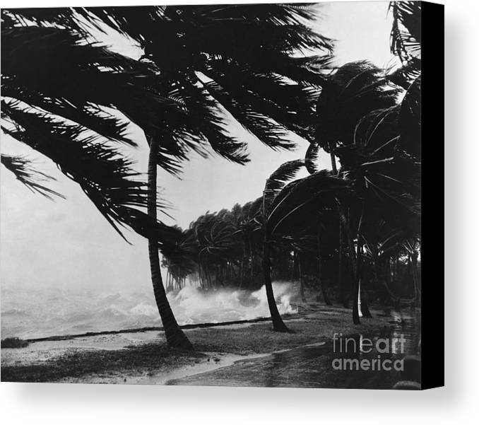 Weather Canvas Print featuring the photograph Storm Surge by Omikron