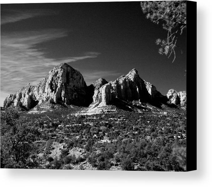 Arizona Canvas Print featuring the photograph Capital Dome I by Randy Oberg