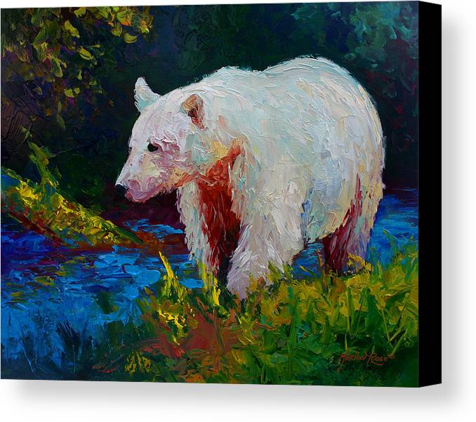 Western Canvas Print featuring the painting Capture The Spirit by Marion Rose