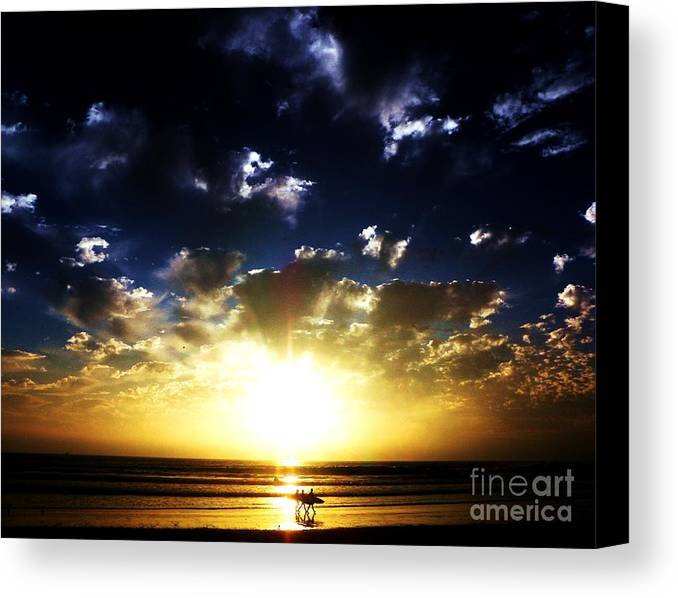 Sunsets Canvas Print featuring the photograph Glory by Daniele Smith
