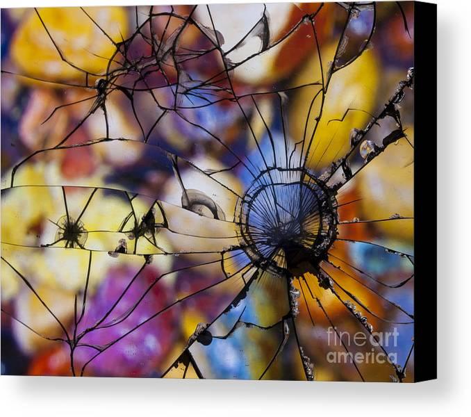 Mirror Canvas Print featuring the digital art Mirrored Pebbles by Pete Vander Velde