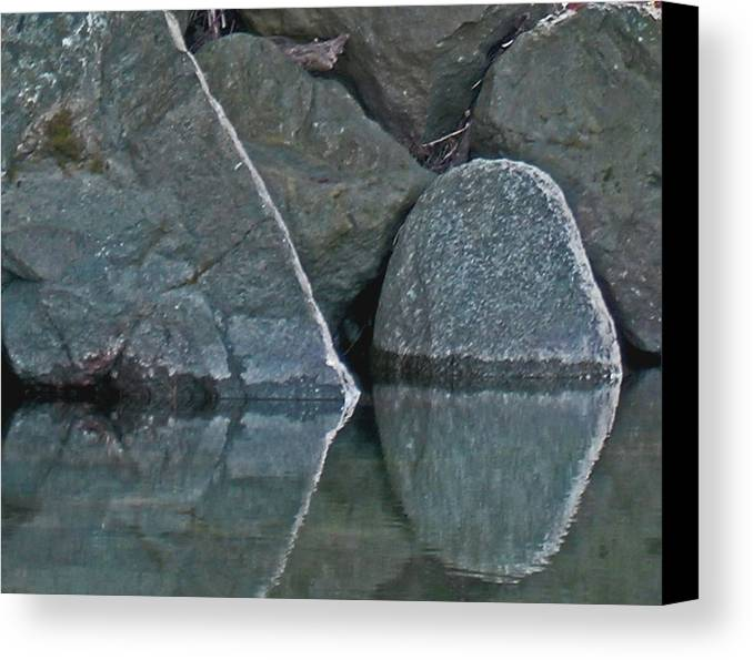 Rocks Canvas Print featuring the photograph Rocks by Wilbur Young