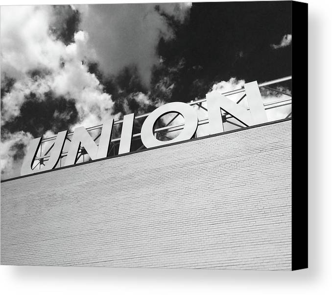 Union Market Canvas Print featuring the photograph Union by Julie Beckwith