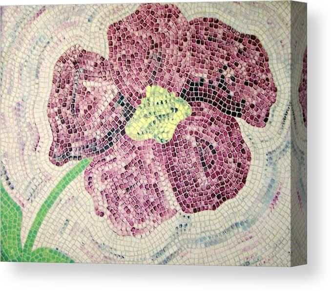 Original Canvas Print featuring the painting Just One by Cynthia Amaral