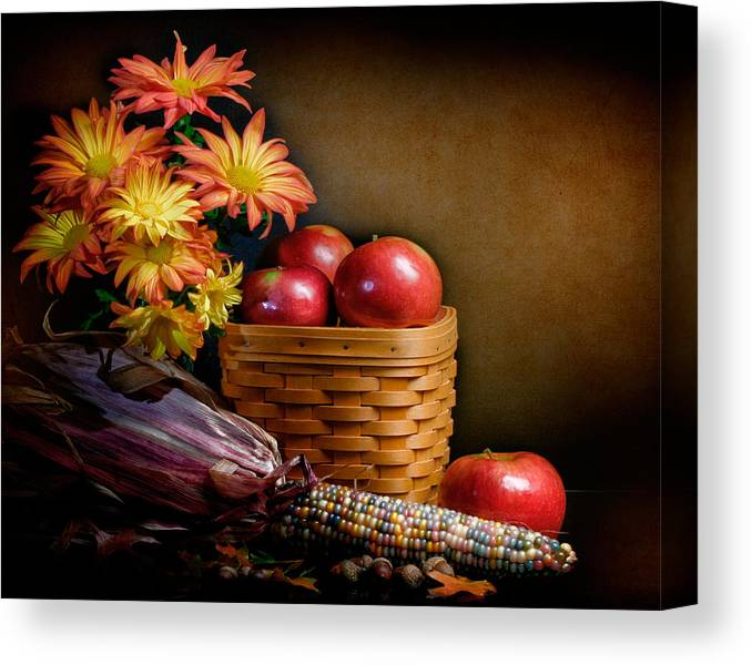 Fall Canvas Print featuring the photograph Autumn by David and Carol Kelly