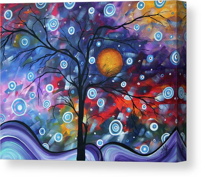 112310 Canvas Print featuring the painting See The Beauty by Megan Duncanson