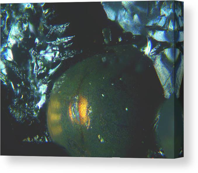 Abstract Canvas Print featuring the photograph Series 4 by John Delpit