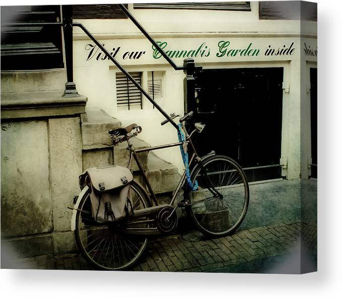Amsterdam Canvas Print featuring the photograph Shopping In Amsterdam by Jill Smith