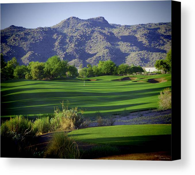 Golf Canvas Print featuring the photograph Need I Say More by Dale Simmons