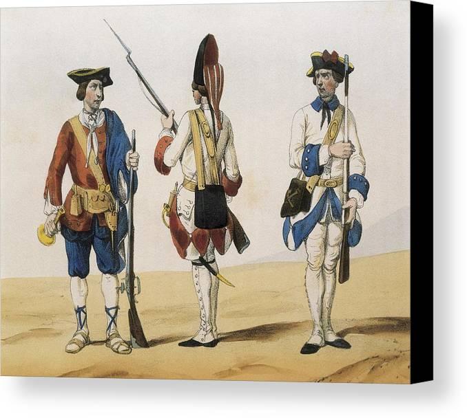 Horizontal Canvas Print featuring the photograph De Sotto, Seraf�n Mar�a, Earl by Everett
