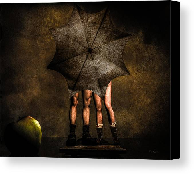 Adam Canvas Print featuring the photograph Adam And Eve by Bob Orsillo