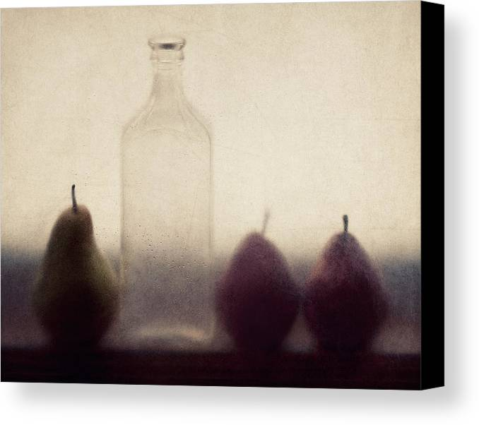 Pear Canvas Print featuring the photograph Autumn Light by Amy Weiss