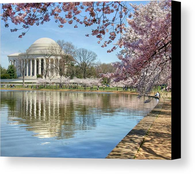 Landscape Canvas Print featuring the photograph Happiness by Mitch Cat
