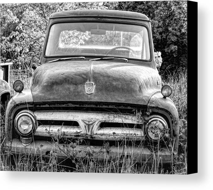 Truck Canvas Print featuring the photograph Pickup Truck 4 by John Crothers