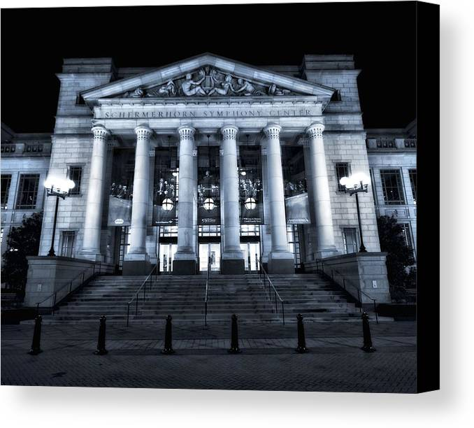 Schermerhorn Symphony Center In Nashville Canvas Print featuring the photograph Schermerhorn Symphony Center by Dan Sproul