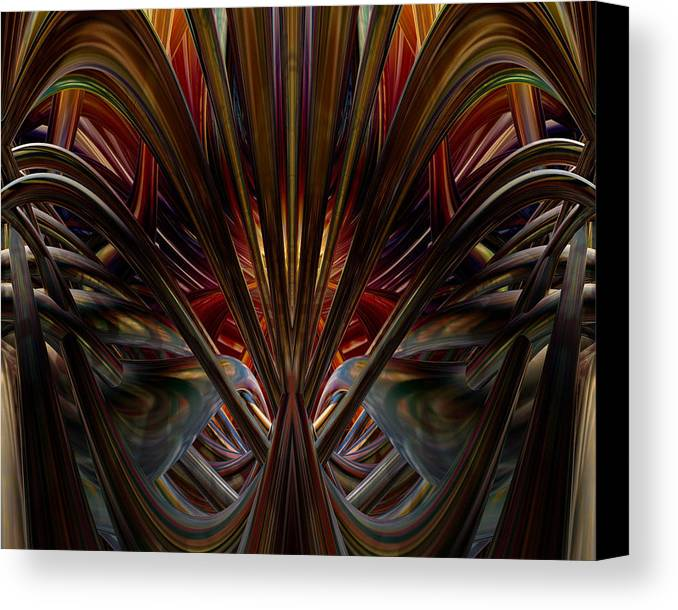 3d Ovah Fx Canvas Print featuring the photograph Swallowed By The Dark Fx by G Adam Orosco