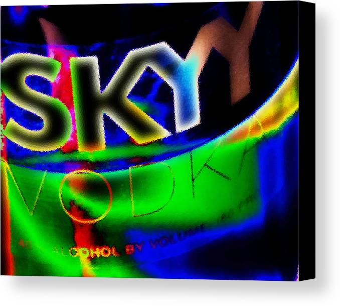 Vodka Canvas Print featuring the photograph Vodka Two by Simone Hester