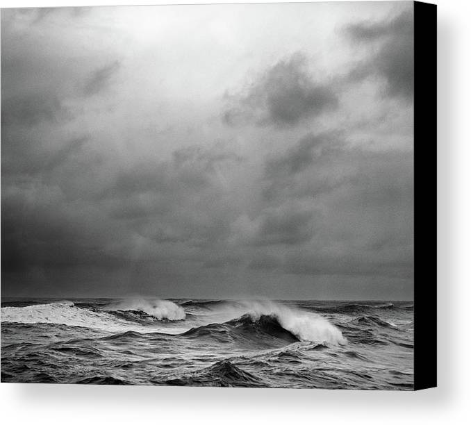 Horizontal Canvas Print featuring the photograph Beauty's Dark And Deep by Zeb Andrews