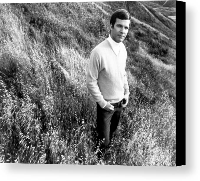1960s Fashion Canvas Print featuring the photograph Bobby Vee, Ca. 1968 by Everett