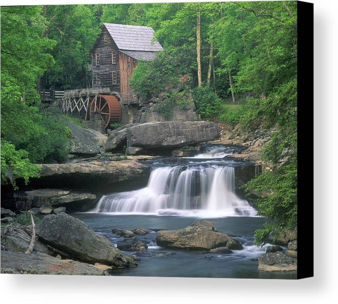Mill Canvas Print featuring the photograph Gladie Mill by Fred Kirchhoff