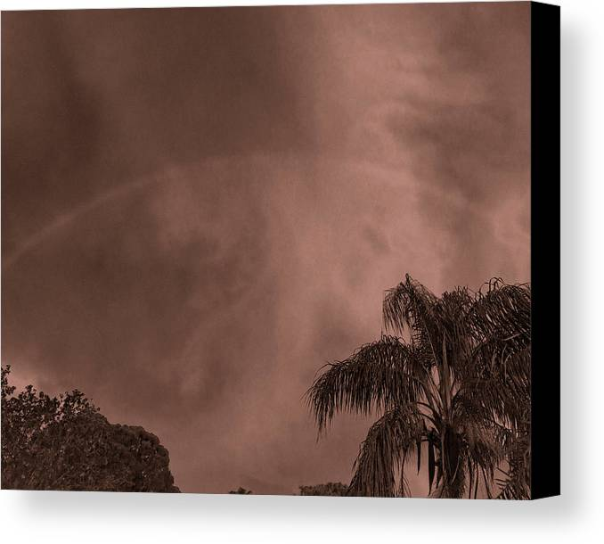 Rainbow Canvas Print featuring the photograph Rainbow Spirit by Roger Wedegis