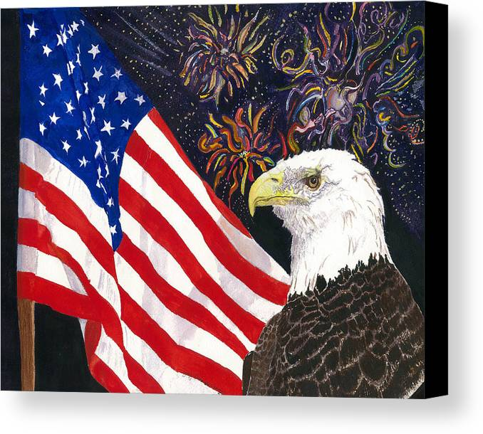 Freedom Canvas Print featuring the painting Still Free by Joy Braverman