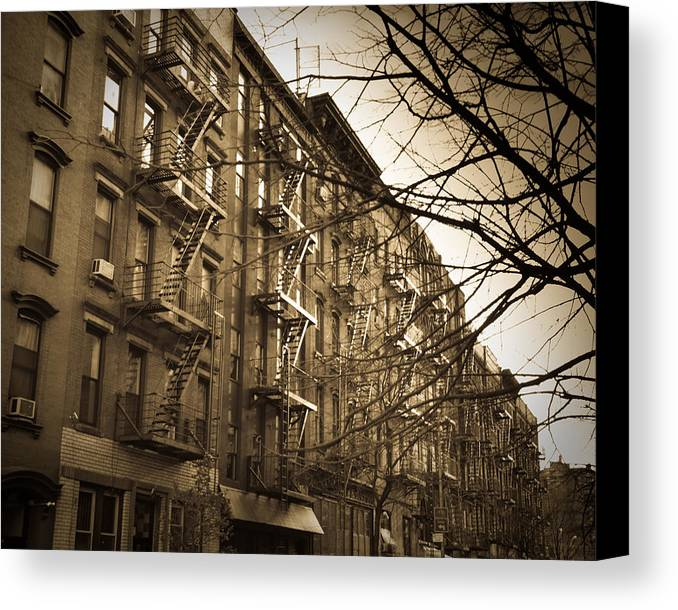 New York City Canvas Print featuring the photograph New York by Patrick Flynn