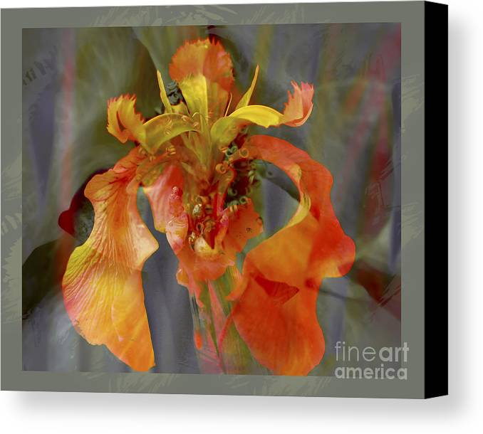 Floral Canvas Print featuring the photograph Dragons Breath by Chuck Brittenham