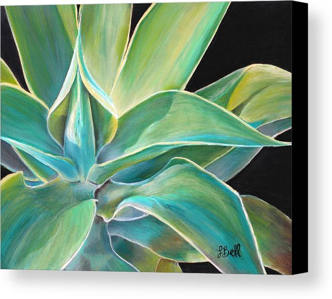 Agave Canvas Print featuring the painting Foregone Conclusion by Laura Bell