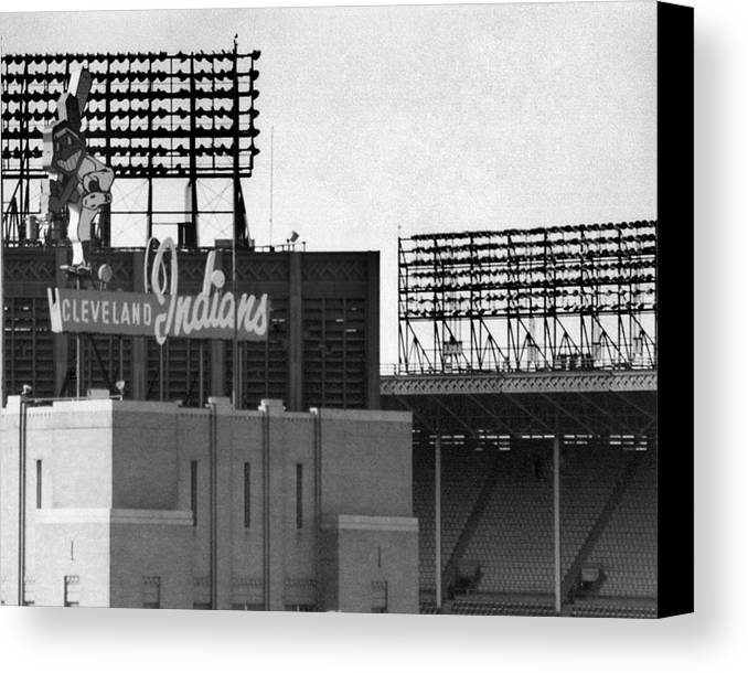 Cleveland Canvas Print featuring the photograph Good Times Bad Times by Kenneth Krolikowski