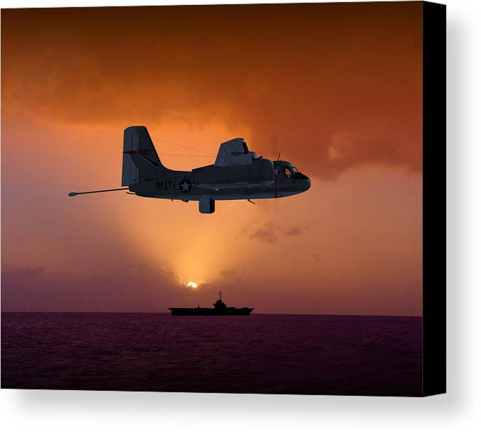 Stoof Canvas Print featuring the digital art Mad Tracker by Mike Ray
