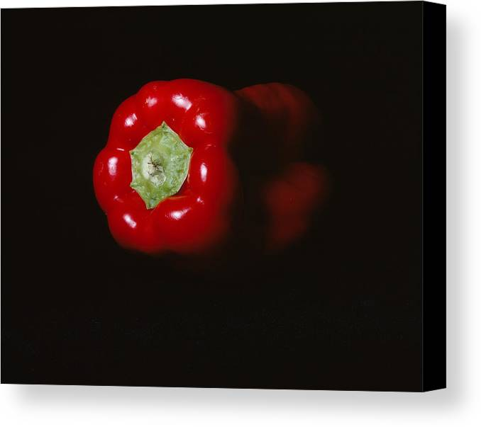 Red Pepper Canvas Print featuring the photograph Pepper by Jessica Wakefield