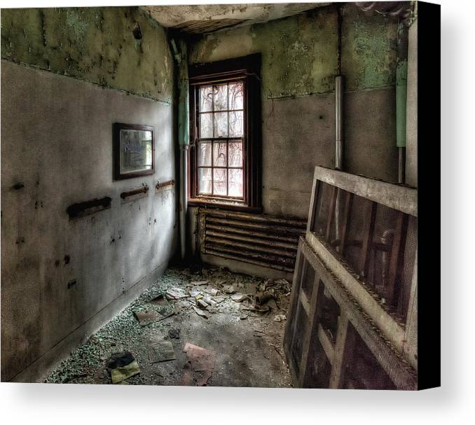 Redrum Canvas Print featuring the photograph Redrum 2 by John Hoey